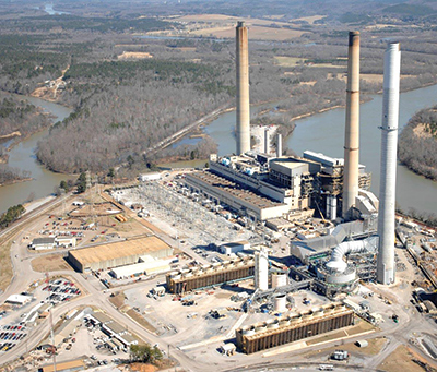 power generation gas fired power plant USA